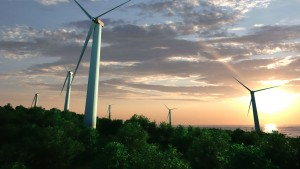 wind farm sunset fusion second version0000